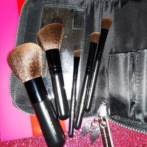 Vintage VS Purse/Tote Makeup 5 piece brush set